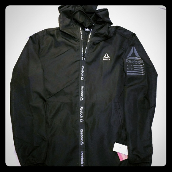 NWT NEW Retail $150 Reebok Outerwear Men/'s Full-Zip Jacket Style SZ 2XL